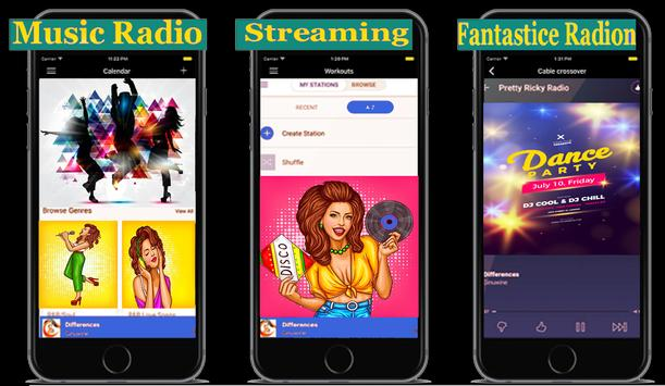 Streaming Music & Podcasts Radio Panda en ligne screenshot 1