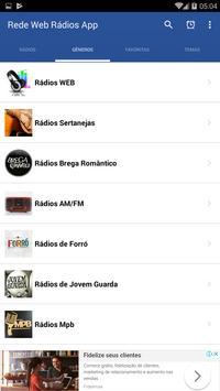 Rádios na Web App screenshot 1
