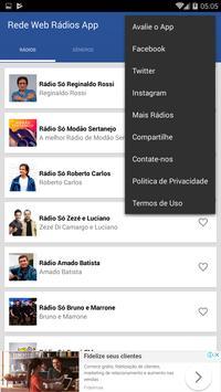 Rádios na Web App screenshot 2
