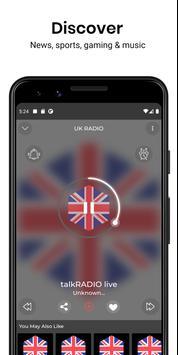 Absolute Radio Free Radio App screenshot 3