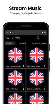 Absolute Radio Free Radio App poster