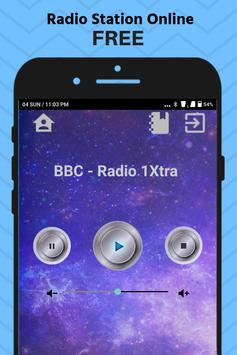 BBC Radio 1Xtra App UK Station Free Online screenshot 1