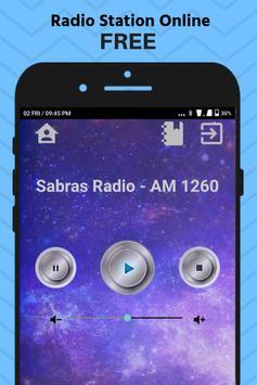 Sabras Radio UK AM 1260 App Station Free Online screenshot 1