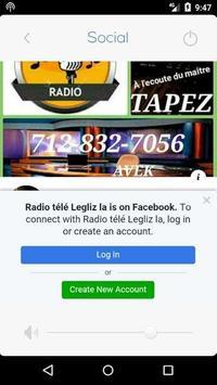 Radio tele legliz la screenshot 3