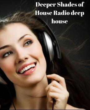 Deeper Shades of House Radio deep house poster