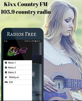 Kixx Country FM 103.9 country radio screenshot 1