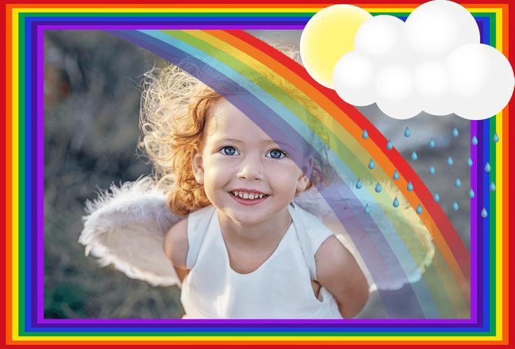 крещение эффект радуги на фото приложение лезут барную