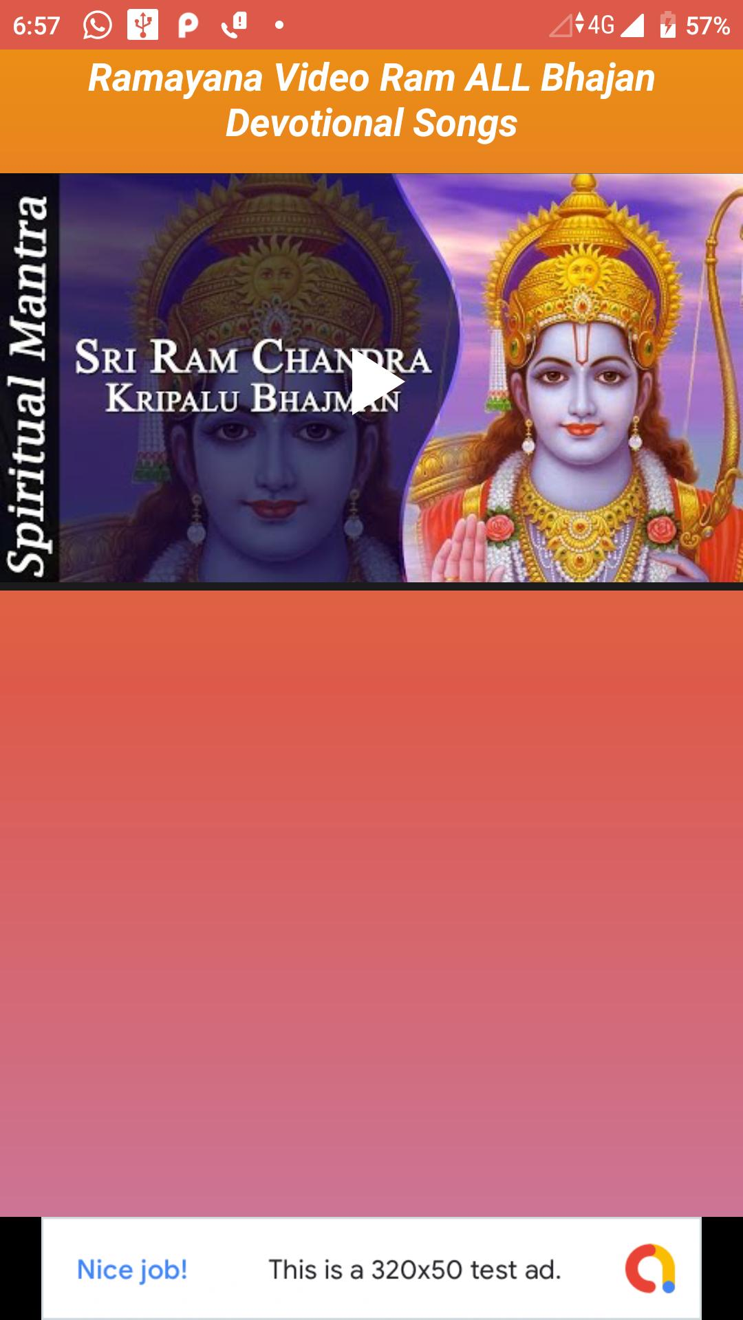 Ramayana Video App Ram Bhajan Songs for Android - APK Download
