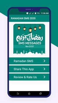 Ramadan Mubarak SMS Messages 2021 poster