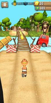 Jungle Runner 3D captura de pantalla 2