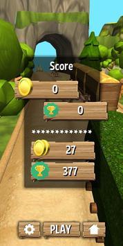 Jungle Runner 3D captura de pantalla 3