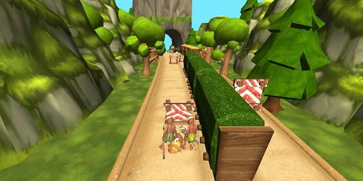 Jungle Runner 3D captura de pantalla 4