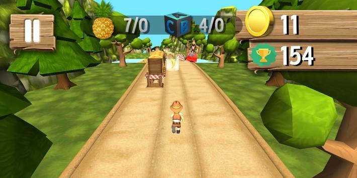 Jungle Runner 3D captura de pantalla 5
