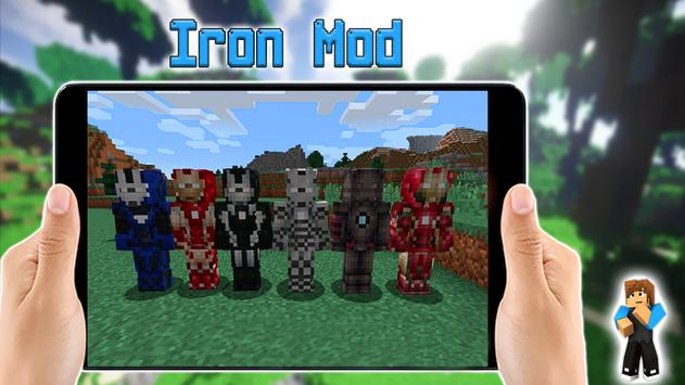 iron superhero for minecraft pe for android  apk download