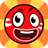 Red Ball 2021- Roller Ball: Bounce Ball Heroes-icoon