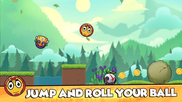 Red Ball 2021- Roller Ball: Bounce Ball Heroes screenshot 15
