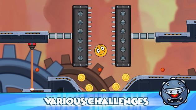 Red Ball 2021- Roller Ball: Bounce Ball Heroes screenshot 4