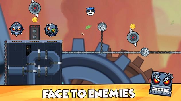 Red Ball 2021- Roller Ball: Bounce Ball Heroes screenshot 5