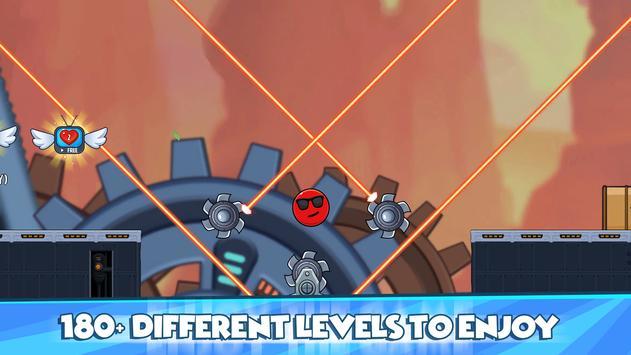 Red Ball 2021- Roller Ball: Bounce Ball Heroes screenshot 8