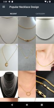 Popular Necklace Design screenshot 1