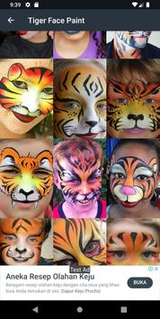Popular Face Painting Design screenshot 11