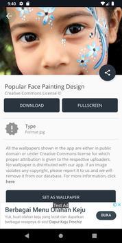 Popular Face Painting Design screenshot 12