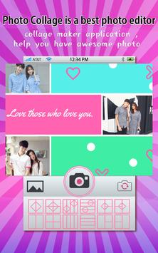 Love Photo Collage Maker and Editor screenshot 1
