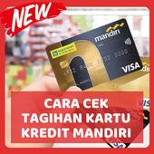 Cara Cek Tagihan Kartu Kredit Mandiri (Update) icon
