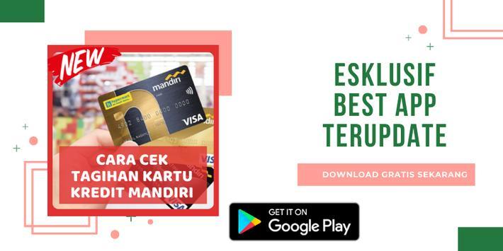Cara Cek Tagihan Kartu Kredit Mandiri (Update) poster