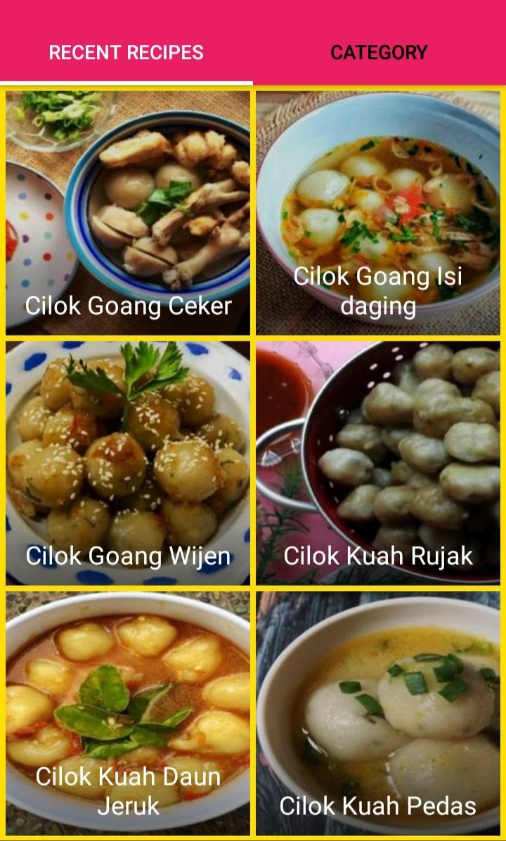 Resep Cilok Istimewa For Android Apk Download