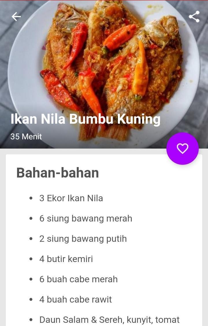 Android Icin Resep Ikan Bumbu Kuning Lengkap Apk Yi Indir