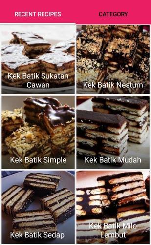 Resepi Kek Batik For Android Apk Download