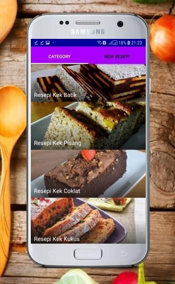 Resepi Kek Mudah For Android Apk Download