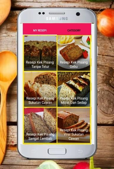 Resepi Kek Pisang For Android Apk Download