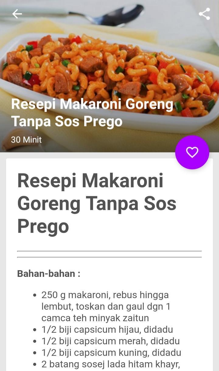 Macaroni Recipes For Android Apk Download