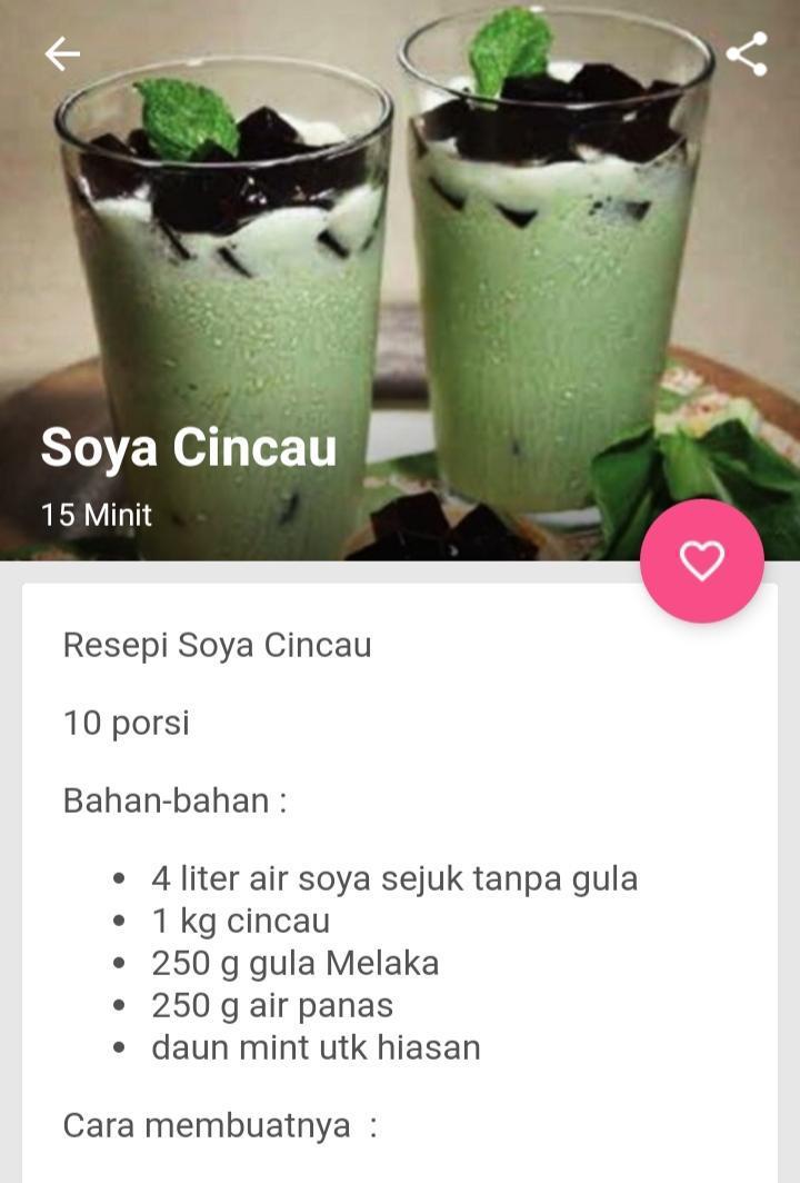 Resepi Minuman For Android Apk Download