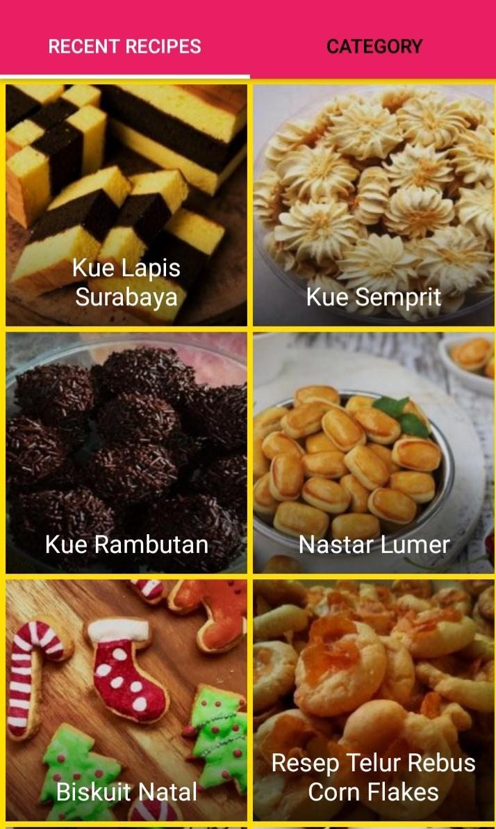 Resep Kue Natal For Android Apk Download