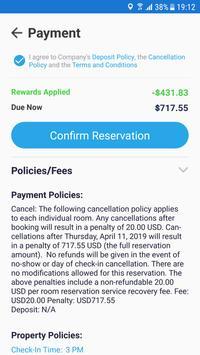 ReserveTravel Mobile screenshot 3