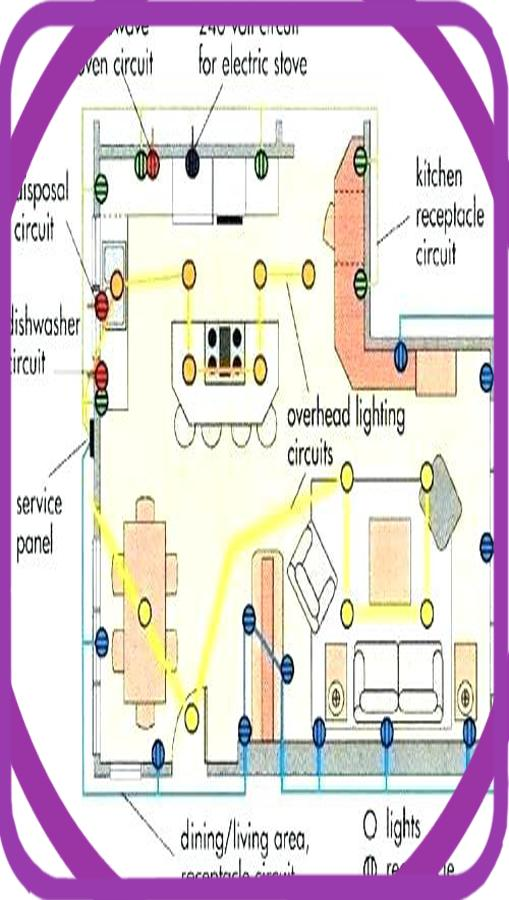 residential electrical wiring diagrams for android  apk