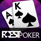 Rest Poker - Texas Holdem أيقونة