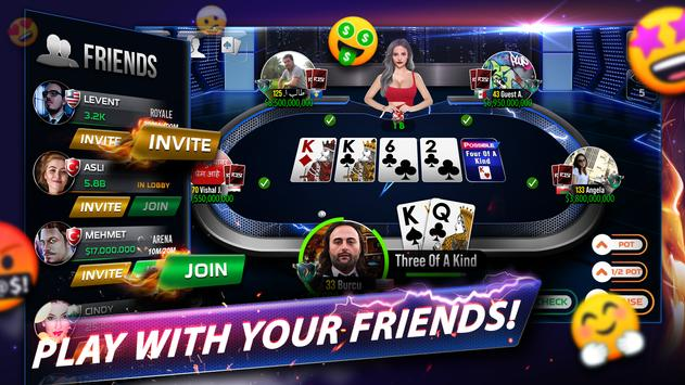 Rest Poker - Texas Holdem Screenshot 3