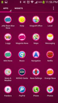 Magenta Theme Nova screenshot 3