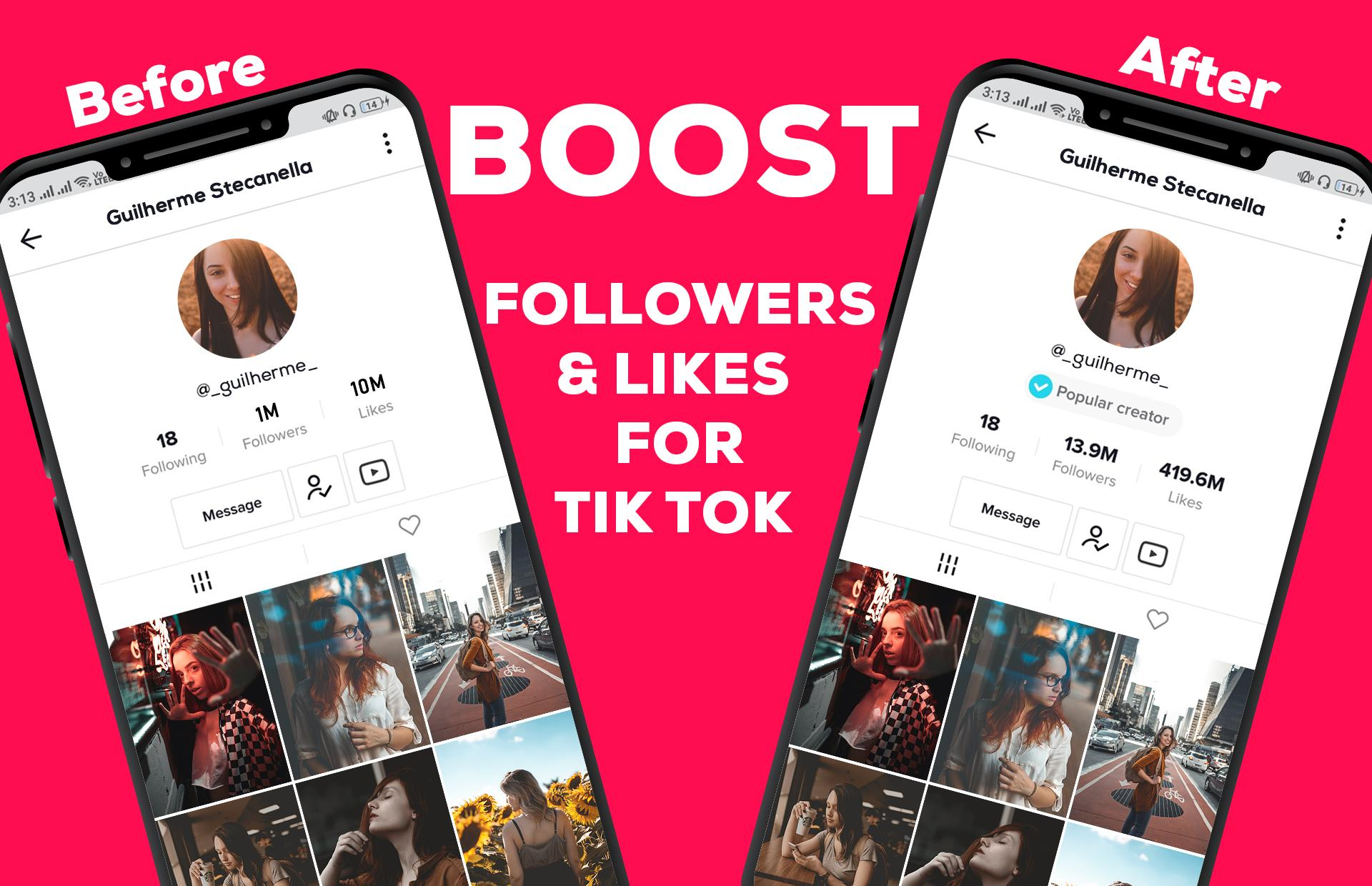 Boost Followers And Likes For Tiktok For Android Apk Download