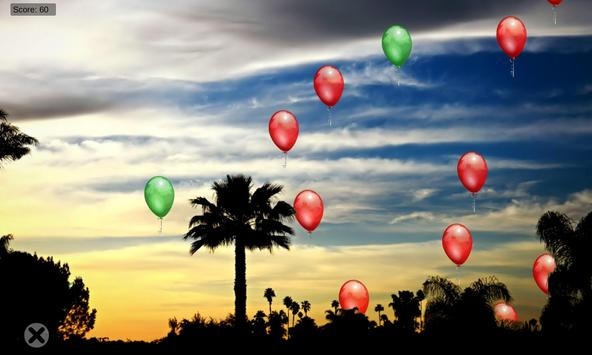 BalloonKlicker for children screenshot 4