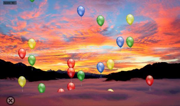BalloonKlicker for children screenshot 1