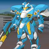 Lắp Ghép Robot Chiến Đấu – Robot Bắn Súng