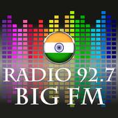 Radio 92.7 BIG FM Live India Live Hindi Free icon