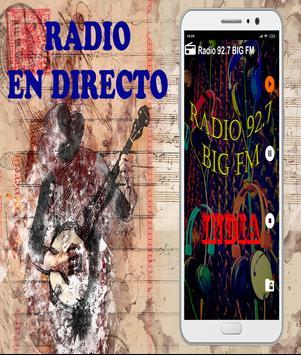 Radio 92.7 BIG FM Live India Live Hindi Free poster