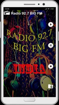 Radio 92.7 BIG FM Live India Live Hindi Free screenshot 1