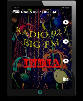 Radio 92.7 BIG FM Live India Live Hindi Free screenshot 3